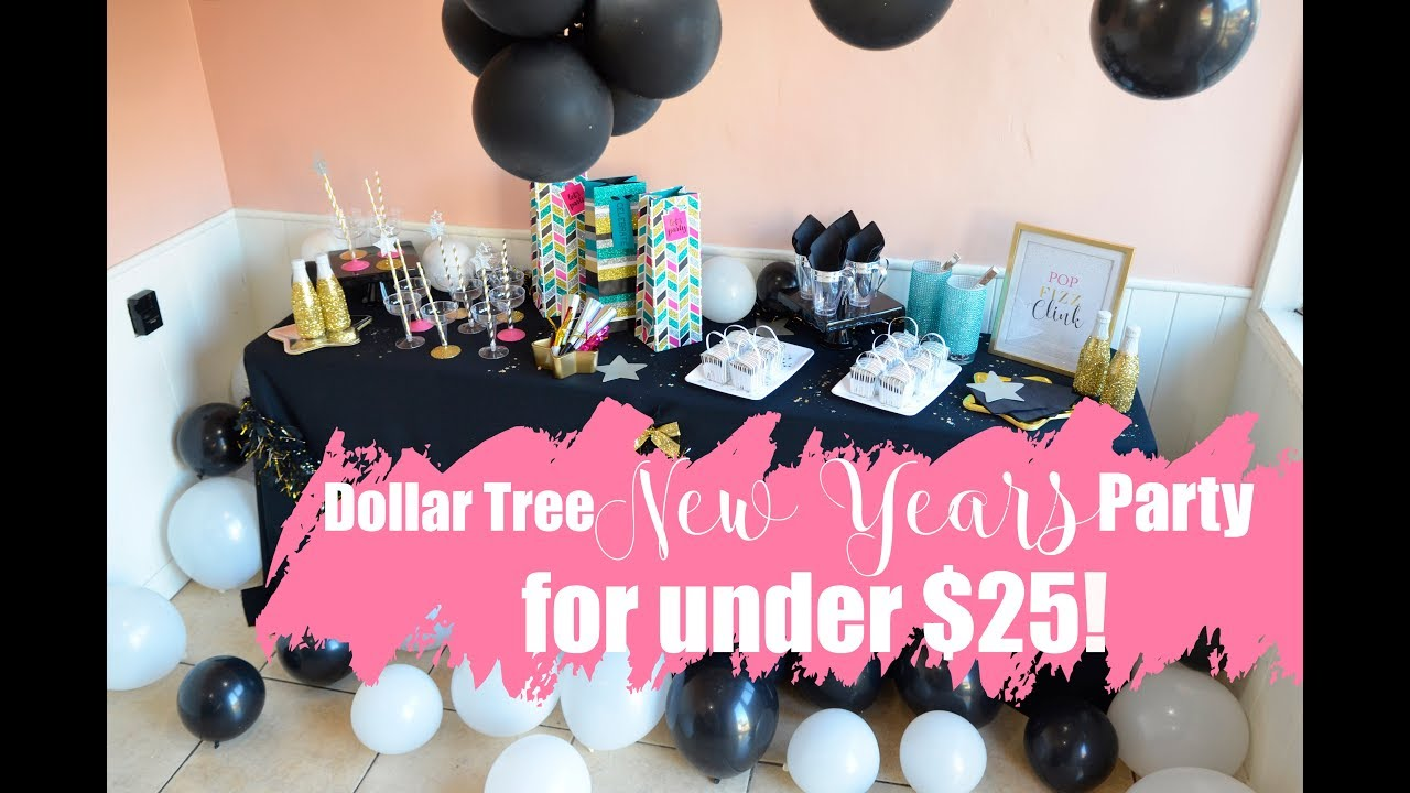 New Years Eve Party under $25! (Dollar Tree DIY) - YouTube
