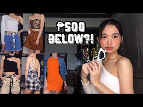 [VIDEO] - AFFORDABLE SHOPEE TRY-ON HAUL 2019 (shoes, clothes, accessories) | Rica Catacutan (Philippines) 7