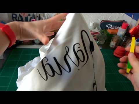 Quitar vinilo textil