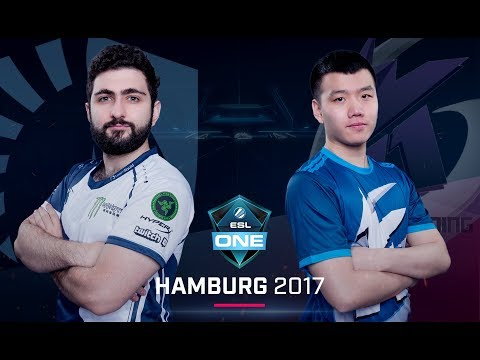 Dota 2 - Team Liquid vs. Keen Gaming - Game 1 - Group B Decider - ESL One Hamburg Major 2017