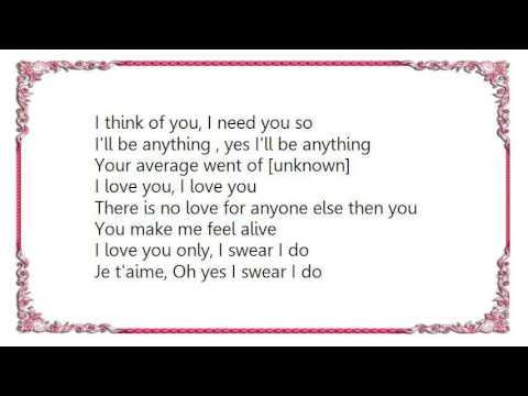Mon amour french song lyrics