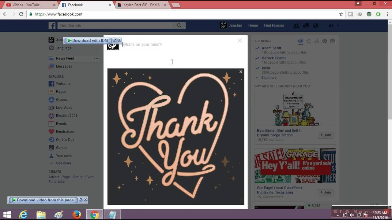 how to post animated gif on facebook upload gif on fb timeline