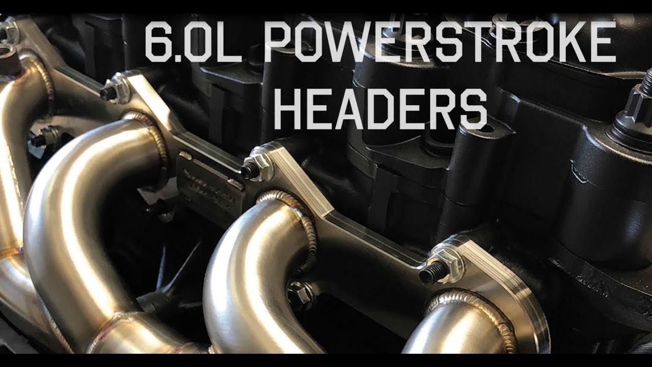 sinister diesel headers for your 6 0l powerstroke