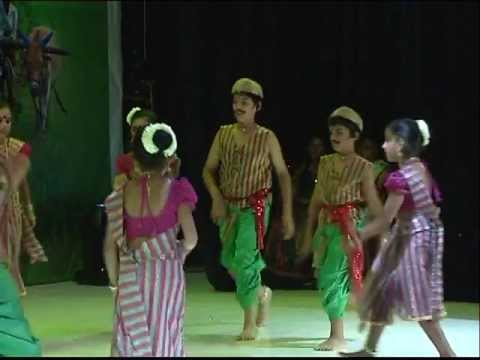 Dennana dennana Denna song by Bharathi kids on Indian Night