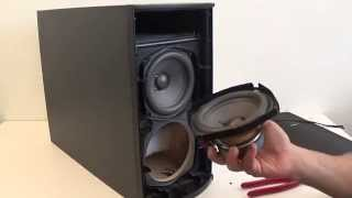 bose ps28 iii dismantling lifestyle lsps ps18 ps28 ps38 ps48 amplifier take apart tear down how to