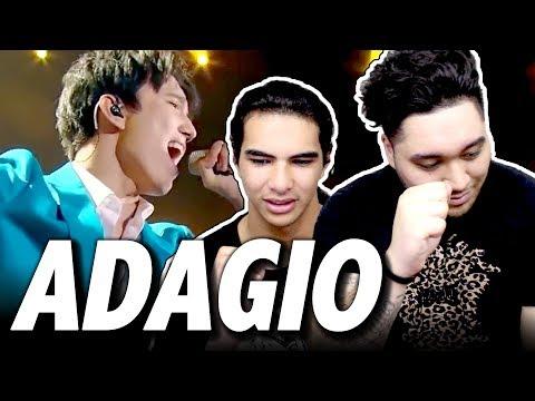 Dimash Kudaibergen - Adagio   Димаш Кудайбергенов   The Singer 2017 REACTION!!!