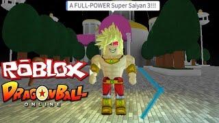 Roblox Dragon Ball Online: SUPER SAIYAN 3 | Defeating Raditz, Nappa, and Vegeta!