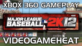 MLB 2K12 Demo / Xbox 360 Gameplay - Texas Rangers vs. St. Louis Cardinals (Also On PS3)