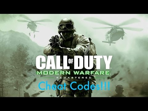 Modern Warfare Remastered Cheat Codes Gamplay!! (All Cheats)