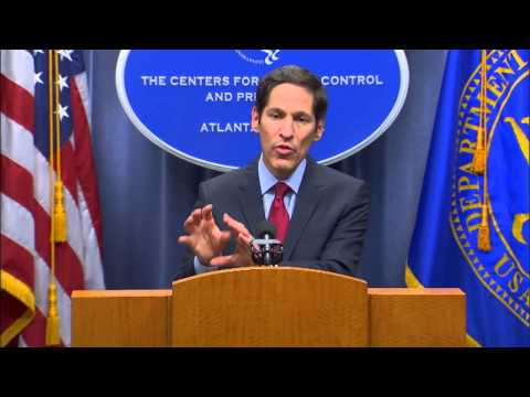 CDC Media Briefing on the first Ebola case diagnosed in the United States