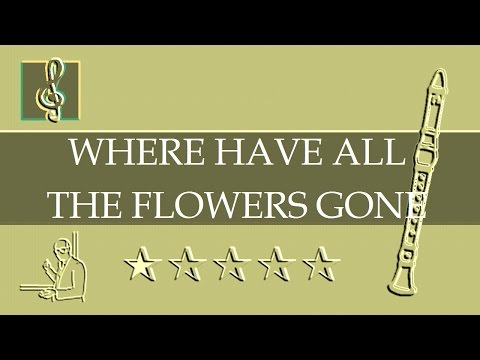Where have all the Flowers gone instrumental guitar backing track ...