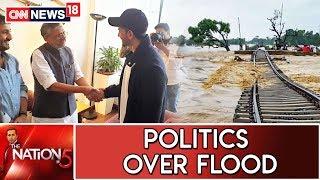 Bihar Dy CM Sushil Modi Slammed For Meeting Hrithik Roshan & Not Flood Victims   Nation@5