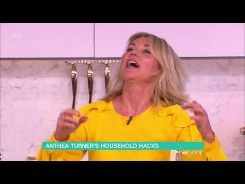 Anthea Turner's Household Hacks - Part 2   This Morning