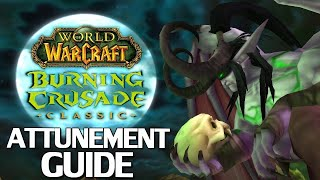 WoW Burning Crusade Classic Attunement Guide