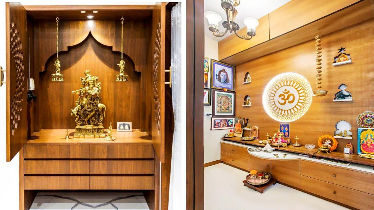 80+ Latest & Trendy Pooja Room Mandir Design 2020 || Mandir & Pooja Room Design ideas