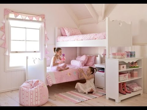 Recamara para ni as happy kids muebles youtube for Decoracion para pared de recamara