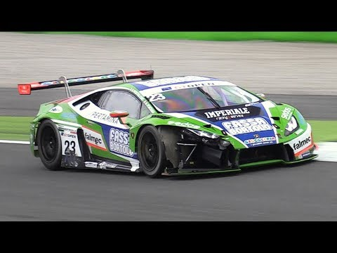 GT Open Monza 2017 w/ Pure GT3 Cars Sounds - RC F, Extenso, M6, 991, 650S, 488 & More!!