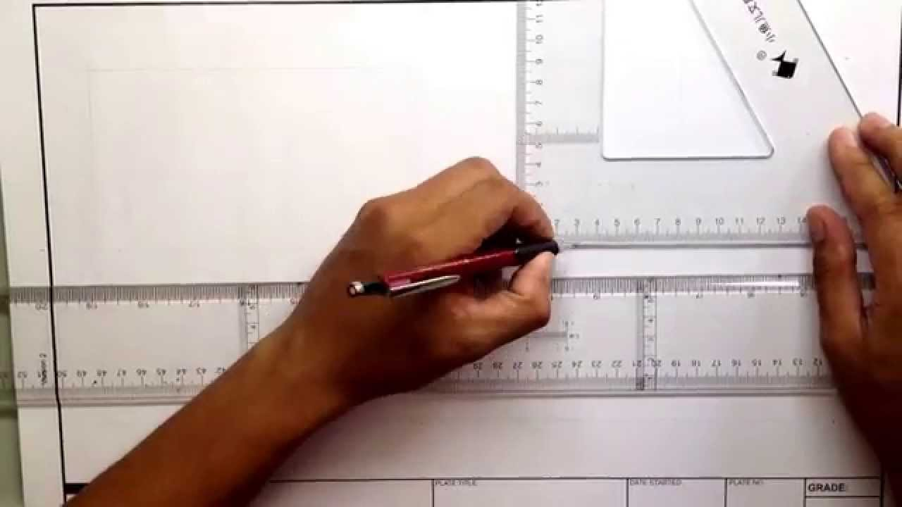 Engineering Drawing (basic) - YouTube