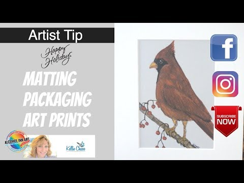 Matting And Packaging Art Prints