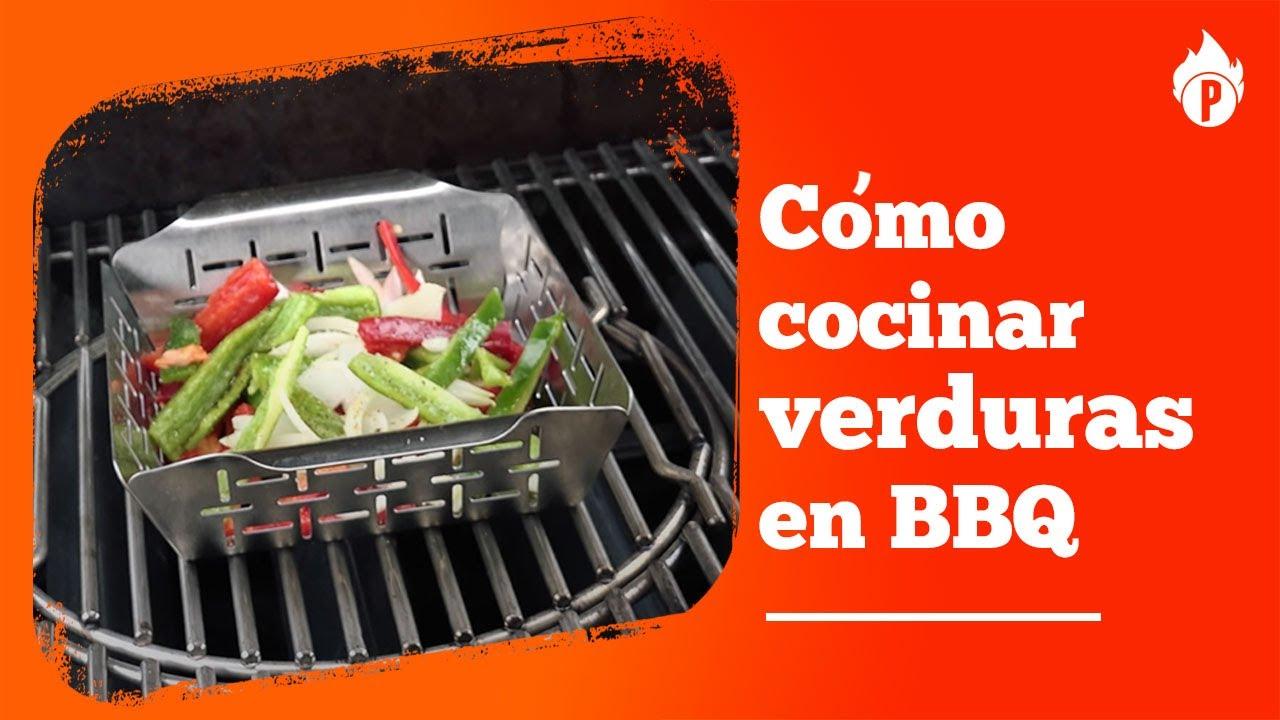 C mo cocinar verduras y hortalizas en barbacoa youtube for Como cocinar verduras