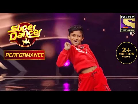 "Nikhil's Unbeatable & Energetic Performance On ""Malhari"" | Super Dancer Chapter 3"