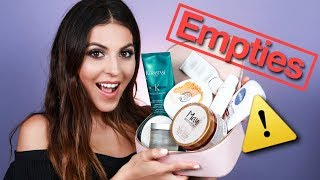 Beauty Product Empties | Would I Repurchase?
