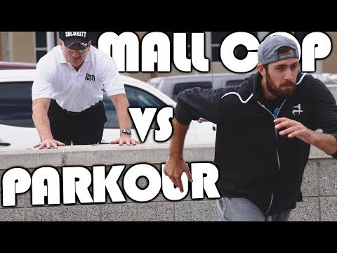 MALL COP VS PARKOUR