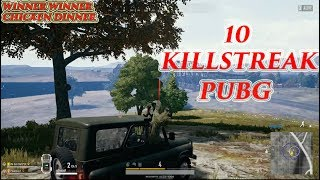 KILLSTREAK - PLAYERUNKNOWN'S BATTLEGROUND - WINNER WINNER CHICKEN DINNER