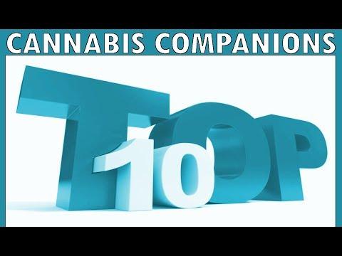 TOP 10 CANNABIS COMPANION PLANTS!