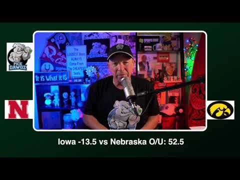 Iowa vs Nebraska 11/27/20 Free College Football Picks and Predictions CFB Tips