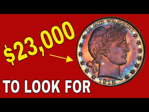 How Valuable Can A Barber Half Dollar Be? Barber Half Dollar You Should Know About