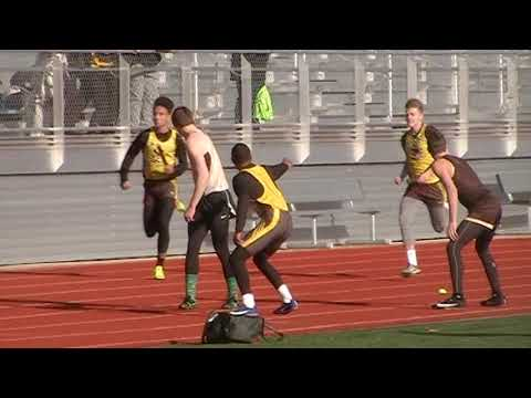 Smith Cotton High School 4x100m relay March 15th 2019