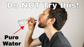 Does 100% Pure Water Have a Taste? Drinking Type II Deionized Water Experiment