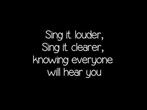 Sing - Gary Barlow & the commonwealth band lyrics