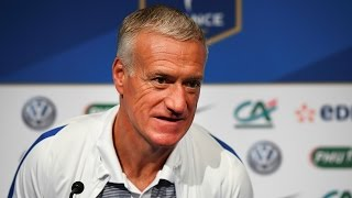 Replay de la conférence de Didier Deschamps