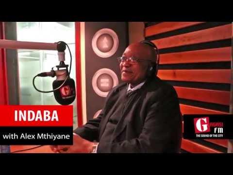 President Jacob Zuma on Indaba with Alex Mthiyane
