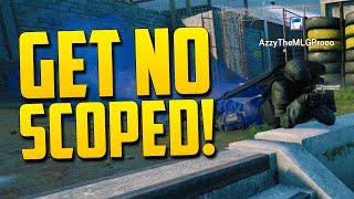 GET NO SCOPED! - Rainbow Six Siege Beta Funny Moments