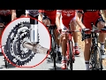 Bad sportsmanship: Pro-cyclist found using bike with hidden motor; cheating in sports - Compilation