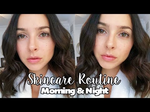 MY SKINCARE ROUTINE 2018 | Morning & Night | Get Clear Skin