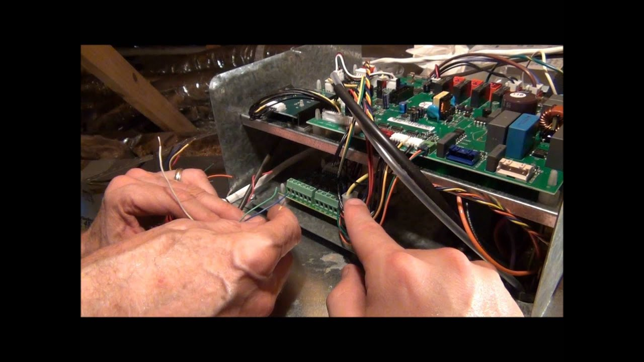 module 16 wiring the indoor units youtube rh youtube com unico air handler wiring diagram unico air handler wiring diagram