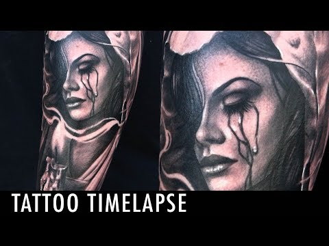 Tattoo Timelapse - Alec Rodriguez