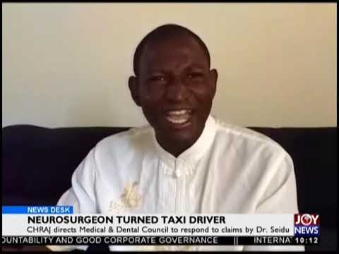 Neurosurgeon Turned Taxi Driver - News Desk on JoyNews (23-11-18)