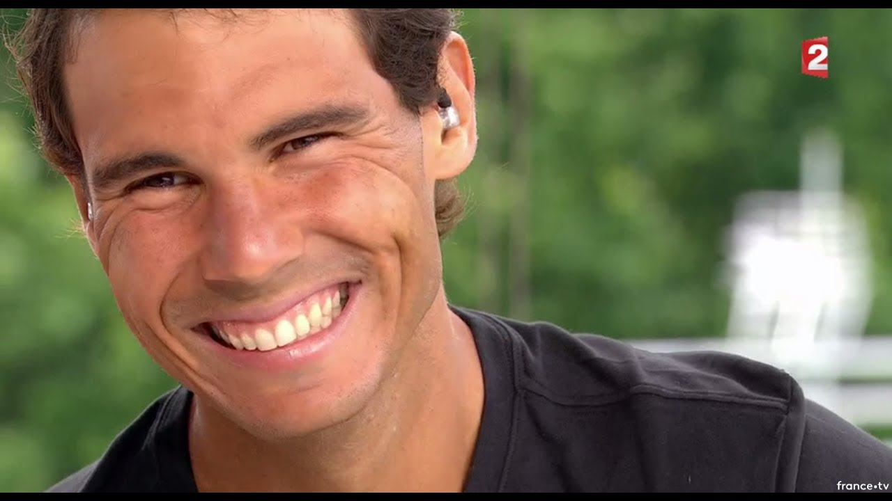Rafael Nadal Interview For France 2 At Rg 3 June 2017 Youtube