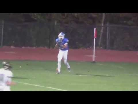 Erick Robertson Football Highlights Paul VI High School (NJ) Sophomore #19