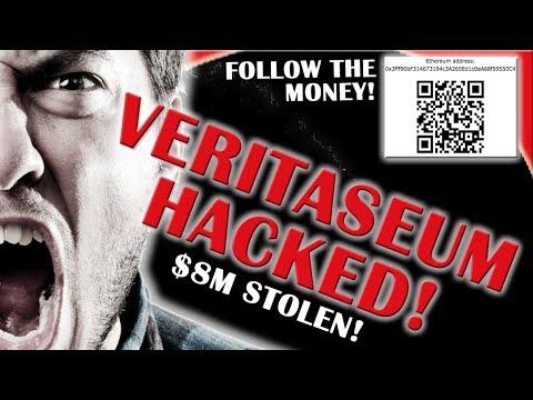 VERI HACKED! $8M STOLEN! NOW CATCH THEM! Cryptocurrency News Veritaseum Analysis Reggie Middleton
