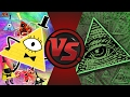 BILL CIPHER vs ILLUMINATI! (Gravity Falls vs MLG) Cartoon Fight Club Episode 159!