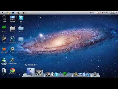 Como Transformar Windows 7 em Mac PT-BR