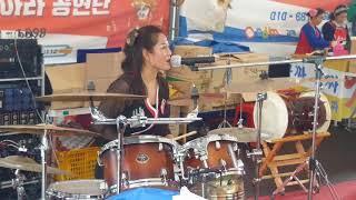 드럼연주 와 함께하는 [하따니품바의✔보릿고개] 공연은 어떠할지? 함평 나비축제 공연중에 ....