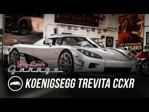 Rare Koenigsegg Trevita CCXR runs through Jay Leno's Garage