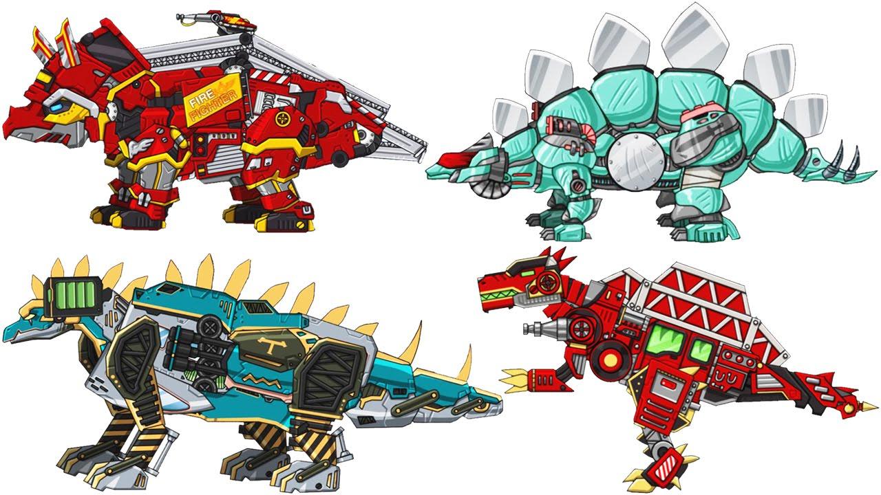 Dino robot corps 3 triceratops transformers eftsei - Dinosaure transformers ...